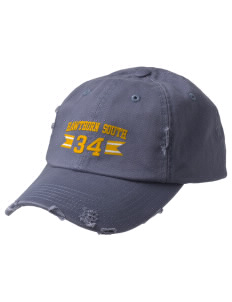 Hawthorn Elementary School South Eagles Embroidered Distressed Cap