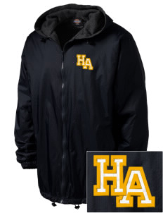 Hope Academy Compton Embroidered Dickies Men's Fleece-Lined Hooded Jacket