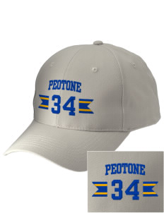 Peotone High School Blue Devils Embroidered Low-Profile Cap