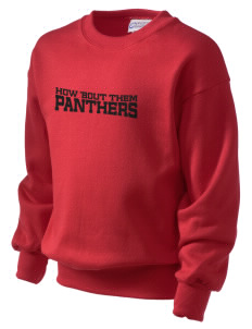 Eastbrook Washington Elementary School Panthers Kid's Crewneck Sweatshirt