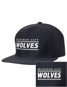 Michigan City Junior High School Wolves Embroidered D-Series Cap