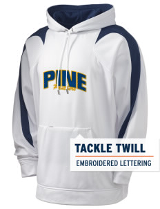 Pine Elementary School Panthers Holloway Men's Sports Fleece Hooded Sweatshirt with Tackle Twill