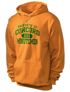 Concord High School Minutemen Champion Men's Hooded Sweatshirt