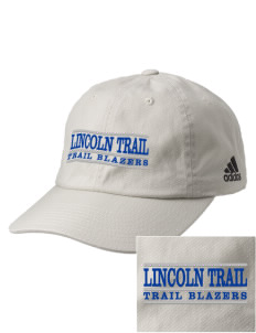 Lincoln Trail Elementary School Trail Blazers Embroidered adidas Relaxed Cresting Cap