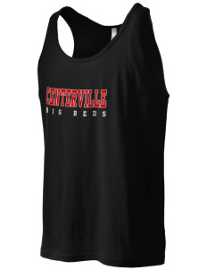 Centerville High School Big Reds Men's Jersey Tank