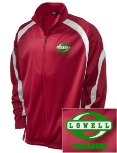 Lowell Elementary School Toreadors Embroidered Holloway Men's Tricotex Warm Up Jacket