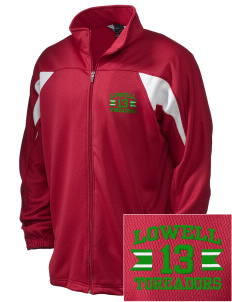 Lowell Elementary School Toreadors Embroidered Holloway Men's Full-Zip Track Jacket