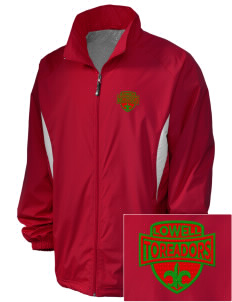 Lowell Elementary School Toreadors Embroidered Holloway Men's Full-Zip Jacket