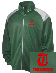 Lowell Elementary School Toreadors Embroidered Men's Tricot Track Jacket
