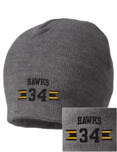 Waverly-Shell Rock Junior High School Hawks Embroidered Beanie