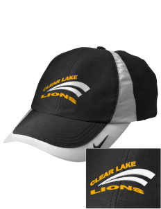 Clear Lake High School Lions Embroidered Nike Golf Colorblock Cap