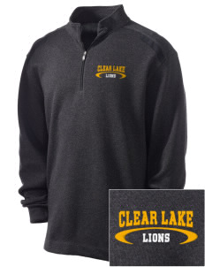 Clear Lake High School Lions Embroidered Nike Men's Golf Heather Cover Up