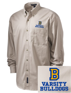Bryant Elementary School Bulldogs Embroidered Tall Men's Twill Shirt