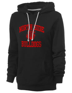 North Side Elementary School Bulldogs Women's Core Fleece Hooded Sweatshirt