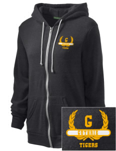 Guthrie Center Junior High School Tigers Embroidered Alternative Unisex The Rocky Eco-Fleece Hooded Sweatshirt