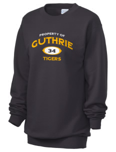 Guthrie Center Junior High School Tigers Unisex 7.8 oz Lightweight Crewneck Sweatshirt