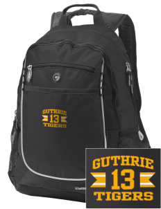 Guthrie Center Junior High School Tigers Embroidered OGIO Carbon Backpack