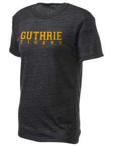 Guthrie Center Junior High School Tigers Embroidered Alternative Unisex Eco Heather T-Shirt