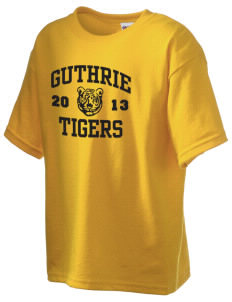 Guthrie Center Junior High School Tigers Kid's 6.1 oz Ultra Cotton T-Shirt