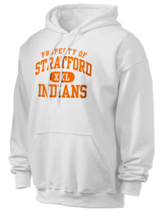 Stratford Community School Lynx Ultra Blend 50/50 Hooded Sweatshirt