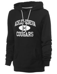 Ackley-Geneva Elementary School Cougars Women's Core Fleece Hooded Sweatshirt
