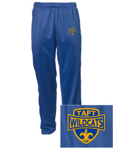 Taft Elementary School Wildcats Embroidered Men's Tricot Track Pants