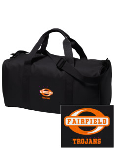 Fairfield Senior High School Trojans Embroidered Holloway Duffel Bag
