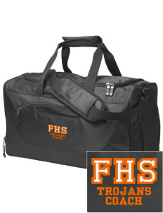Fairfield Senior High School Trojans Embroidered Holloway Chill Medium Duffel Bag