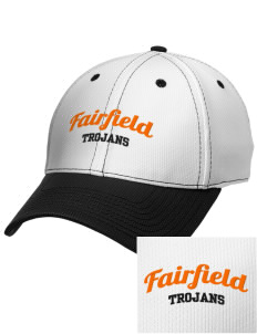 Fairfield Senior High School Trojans Embroidered New Era Snapback Performance Mesh Contrast Bill Cap