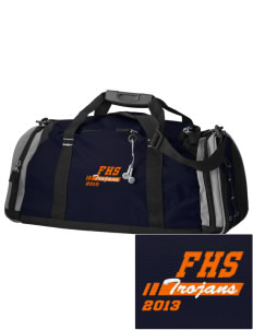 Fairfield Senior High School Trojans Embroidered OGIO All Terrain Duffel