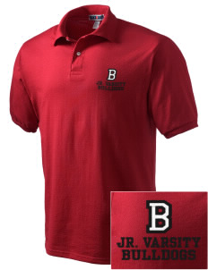 Bryant Elementary School Bulldogs Embroidered Men's Jersey Polo
