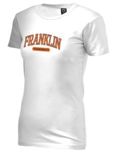 Franklin Middle School Thunderbolts Alternative Women's Basic Crew T-Shirt