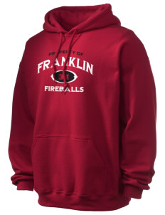Franklin Elementary School Fireballs Ultra Blend 50/50 Hooded Sweatshirt