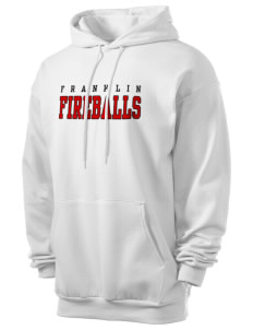 Franklin Elementary School Fireballs Men's 7.8 oz Lightweight Hooded Sweatshirt
