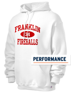 Franklin Elementary School Fireballs Russell Men's Dri-Power Hooded Sweatshirt