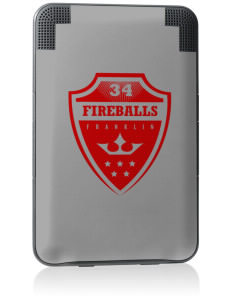 Franklin Elementary School Fireballs Kindle Keyboard 3G Skin