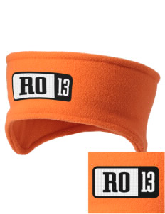 Red Oak Middle School Tigers Embroidered Fleece Headband