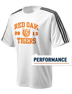 Red Oak Middle School Tigers adidas Men's ClimaLite T-Shirt