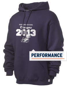 Grant Elementary School Chargers Russell Men's Dri-Power Hooded Sweatshirt