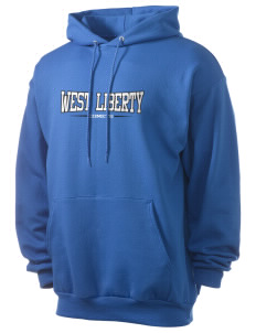 West Liberty High School Comets Men's 7.8 oz Lightweight Hooded Sweatshirt