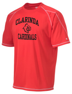 Clarinda Senior High School Cardinals Champion Men's 4.1 oz Double Dry Odor Resistance T-Shirt