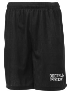 "Goodrell Middle School Pioneers Men's Mesh Shorts, 7-1/2"" Inseam"