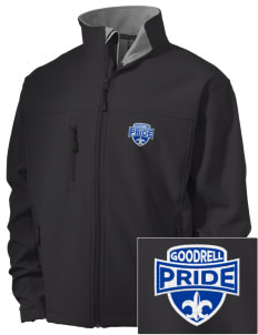 Goodrell Middle School Pioneers Embroidered Men's Soft Shell Jacket