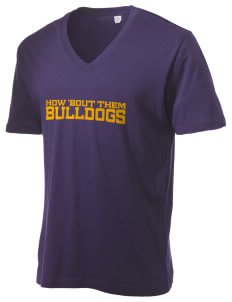 Riverside South Elementary School Bulldogs Alternative Men's 3.7 oz Basic V-Neck T-Shirt