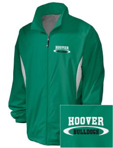 Hoover Elementary School Bulldogs Embroidered Holloway Men's Full-Zip Jacket