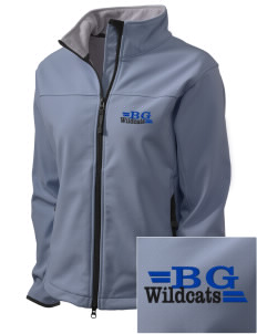 Blue Grass Elementary School Wildcats Embroidered Women's Glacier Soft Shell Jacket