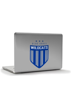 "Blue Grass Elementary School Wildcats Apple MacBook Pro 15.4"" Skin"