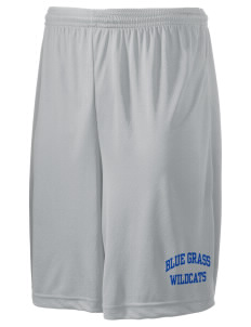 "Blue Grass Elementary School Wildcats Men's Competitor Short, 9"" Inseam"