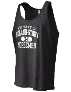 Roland-Story High School Norsemen Men's Jersey Tank