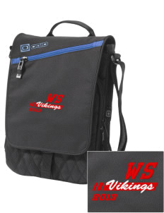 West Side School Vikings Embroidered OGIO Module Sleeve for Tablets
